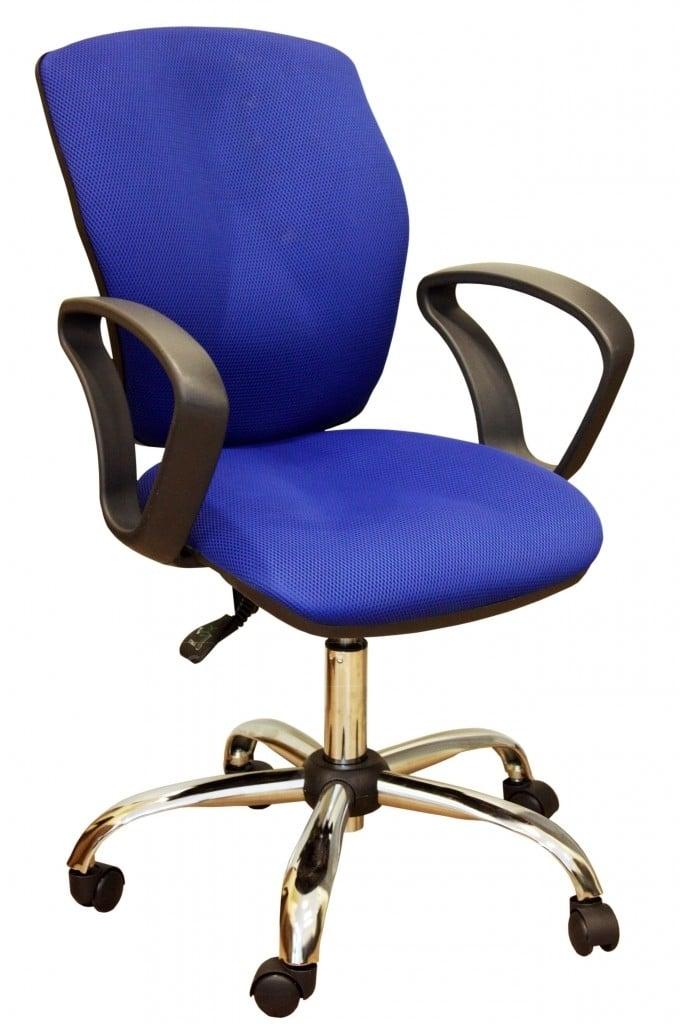 Офисное кресло Юпитер хром фото 3 | интернет-магазин Складно