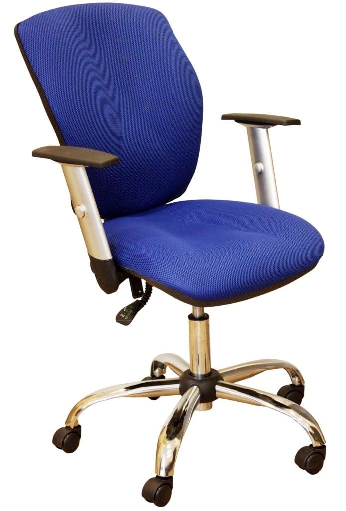 Офисное кресло Юпитер хром фото 4 | интернет-магазин Складно