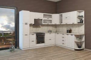 Кухня угловая Агава 2,3х2,8 м фото | интернет-магазин Складно