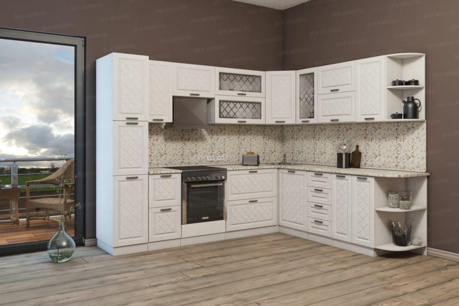 Кухня угловая Агава 2,3х2,8м фото | интернет-магазин Складно