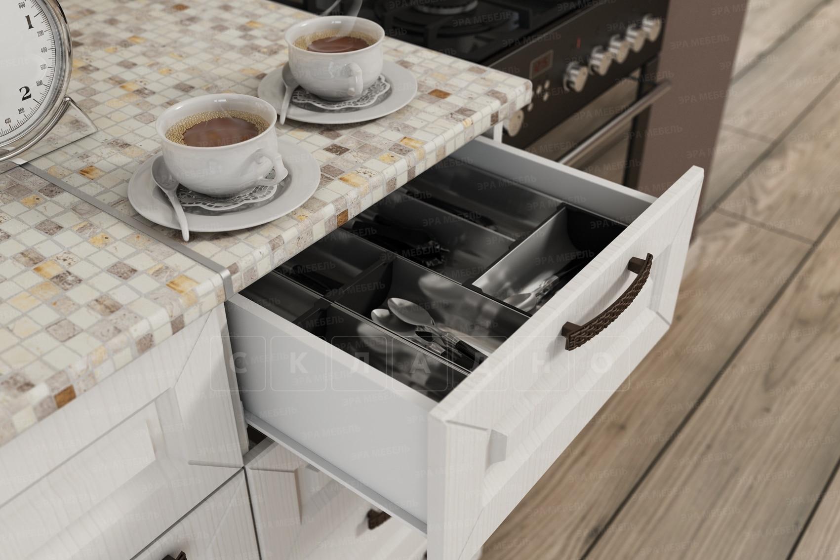 Кухня угловая с пеналом Агава 1,45х2,75м фото 4 | интернет-магазин Складно