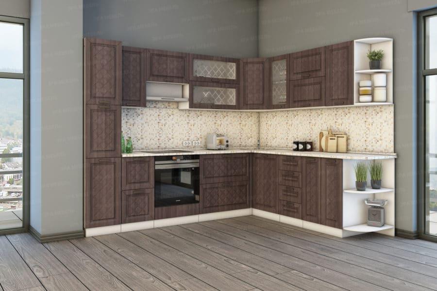 Кухня угловая Агава 2,3х2,8м фото 2 | интернет-магазин Складно