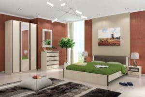 Спальный гарнитур Новелла фото | интернет-магазин Складно