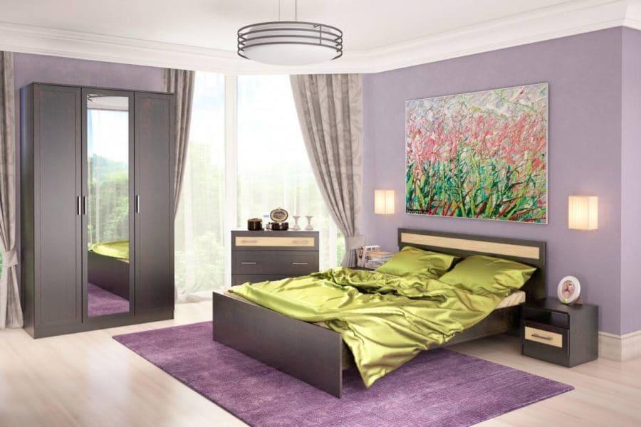Спальный гарнитур Клэр фото | интернет-магазин Складно