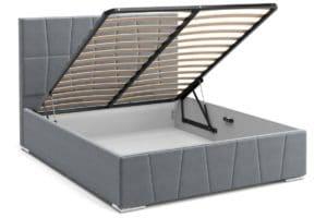 Кровать с подъемным механизмом Пассаж 180см серая 25990 рублей, фото 2 | интернет-магазин Складно