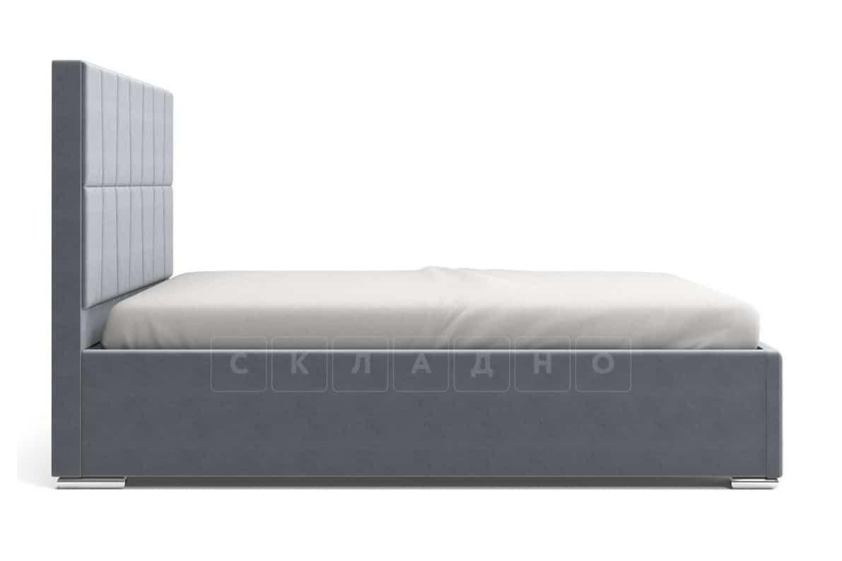 Кровать с подъемным механизмом Пассаж 180см серая фото 5 | интернет-магазин Складно