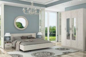 Спальный гарнитур Лозанна фото | интернет-магазин Складно