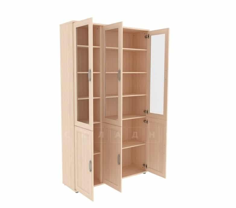 Книжный шкаф 503-10 молочный дуб фото 2 | интернет-магазин Складно