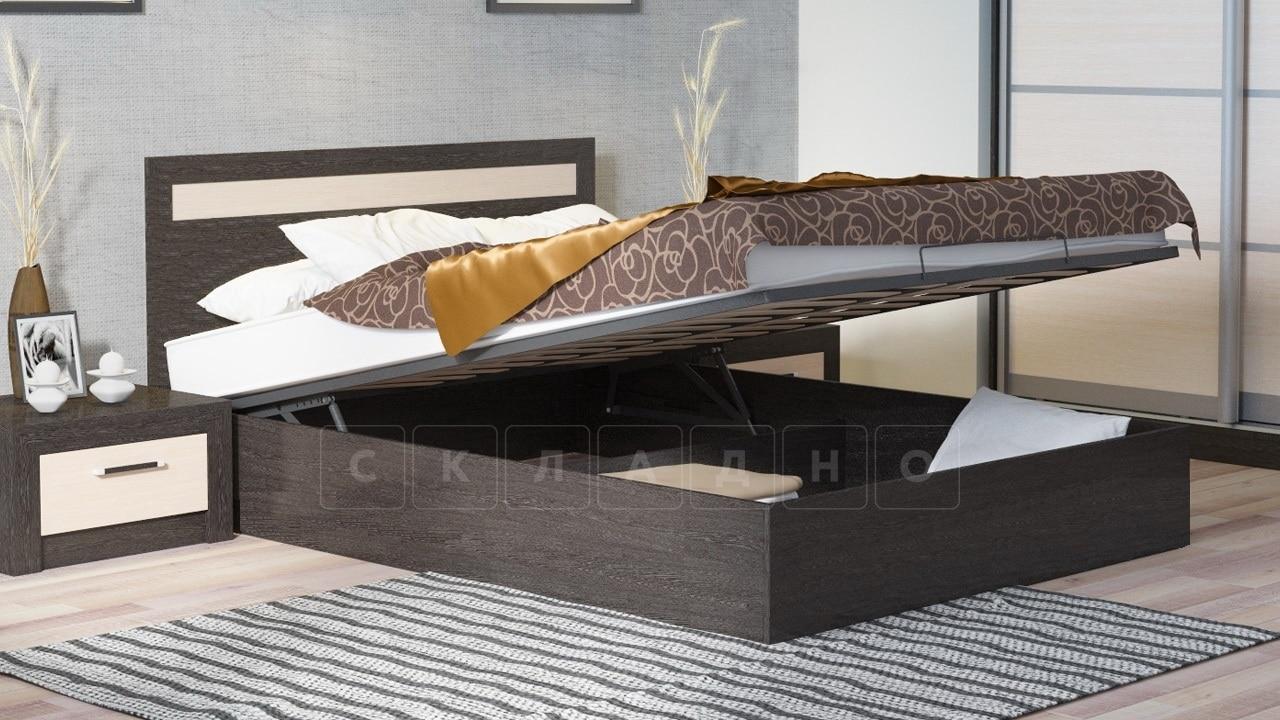 Кровать с подъемным механизмом Фиеста 140см фото 2 | интернет-магазин Складно