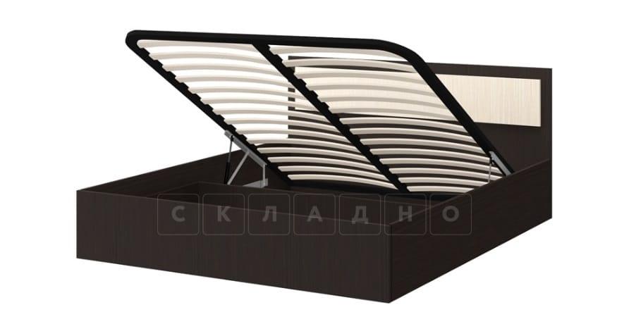Кровать с подъемным механизмом Фиеста 140см фото 1 | интернет-магазин Складно