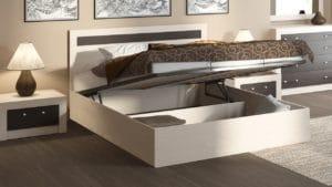 Кровать с подъемным механизмом Фиеста 140см 8250 рублей, фото 3 | интернет-магазин Складно