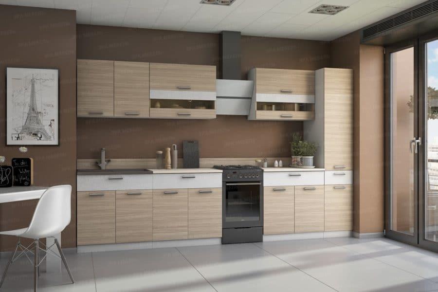 Кухонный гарнитур Эра 2,8м сахара фото | интернет-магазин Складно