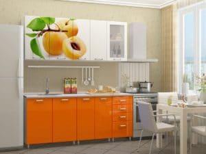 Кухонный гарнитур Персик 1,8 м  19670  рублей, фото 1 | интернет-магазин Складно