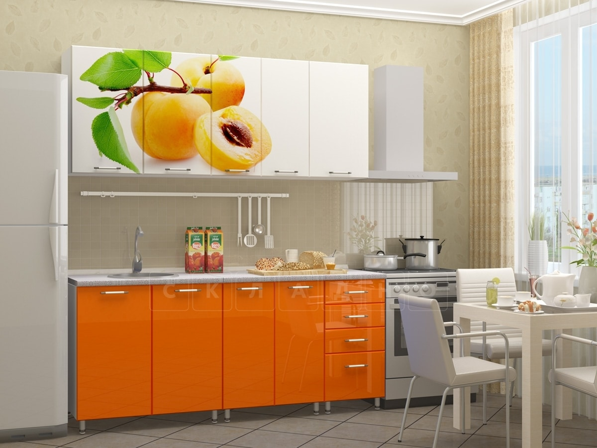 Кухонный гарнитур Персик 1,8 м фото 2 | интернет-магазин Складно
