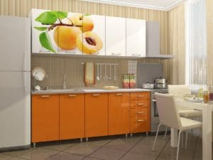 Кухонный гарнитур Персик 2,0 м 15690 рублей, фото 2 | интернет-магазин Складно