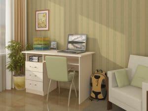 Письменный стол ПС-02 с ящиками 3560 рублей, фото 2 | интернет-магазин Складно