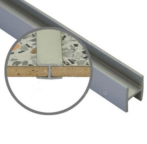Соединительная планка для стеновой панели t-6 мм фото 1 | интернет-магазин Складно