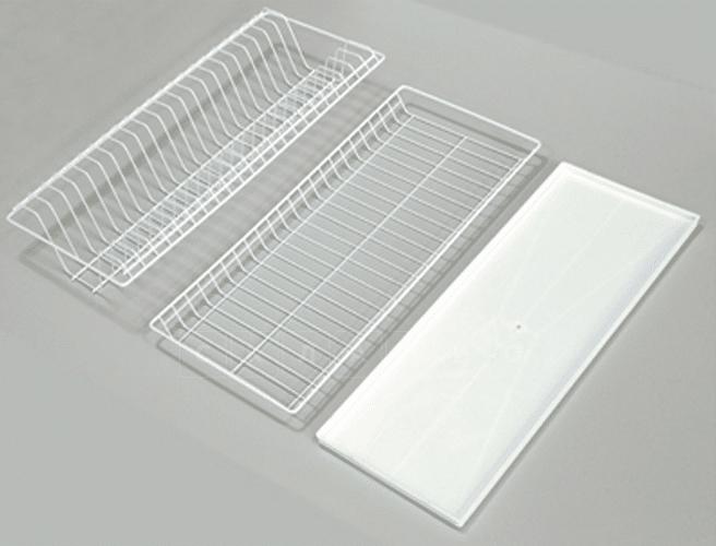 Сушилка для посуды эмаль 765 белый фото 1 | интернет-магазин Складно