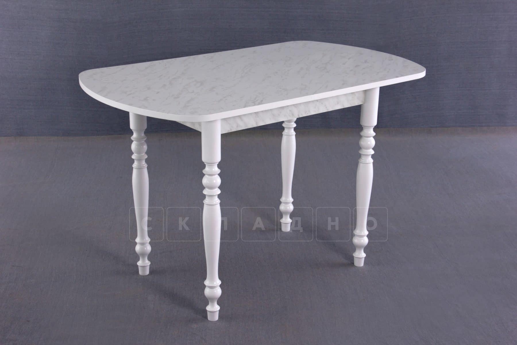 Обеденный стол прямоугольный на резных ножках 100х60 фото 1 | интернет-магазин Складно