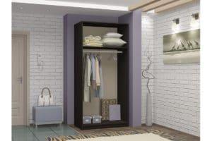 Шкаф двухстворчатый 900мм со штангой фото 2 | интернет-магазин Складно
