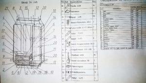 Шкаф трехстворчатый с большими ящиками 120 см 9350 рублей, фото 2 | интернет-магазин Складно