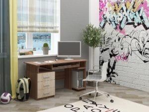 Письменный стол СК-9 фото | интернет-магазин Складно