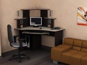 Компьютерный стол СКУ-2 фото | интернет-магазин Складно