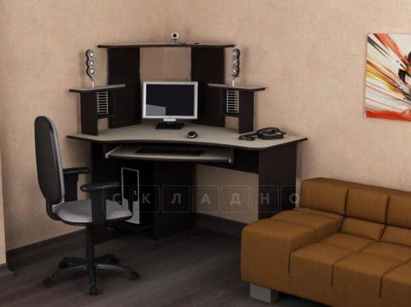Компьютерный стол СКУ-2 фото 1 | интернет-магазин Складно