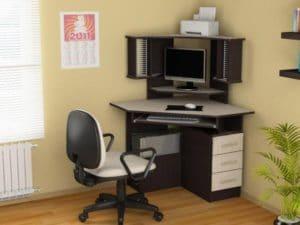 Компьютерный стол СКУ-4 угловой фото | интернет-магазин Складно