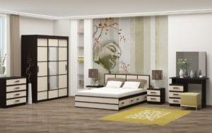 Спальный гарнитур Сакура фото | интернет-магазин Складно