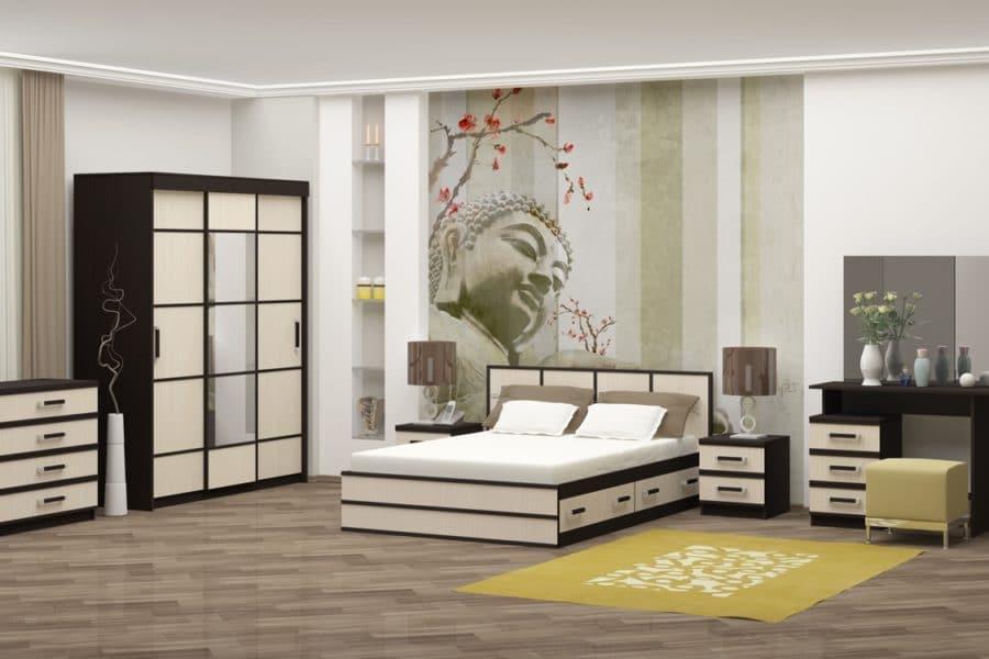 Спальный гарнитур Сакура фото   интернет-магазин Складно
