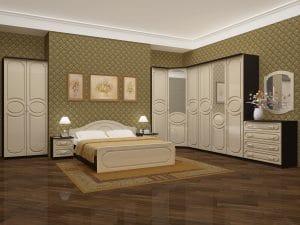 Спальный гарнитур Карина-7 фото | интернет-магазин Складно