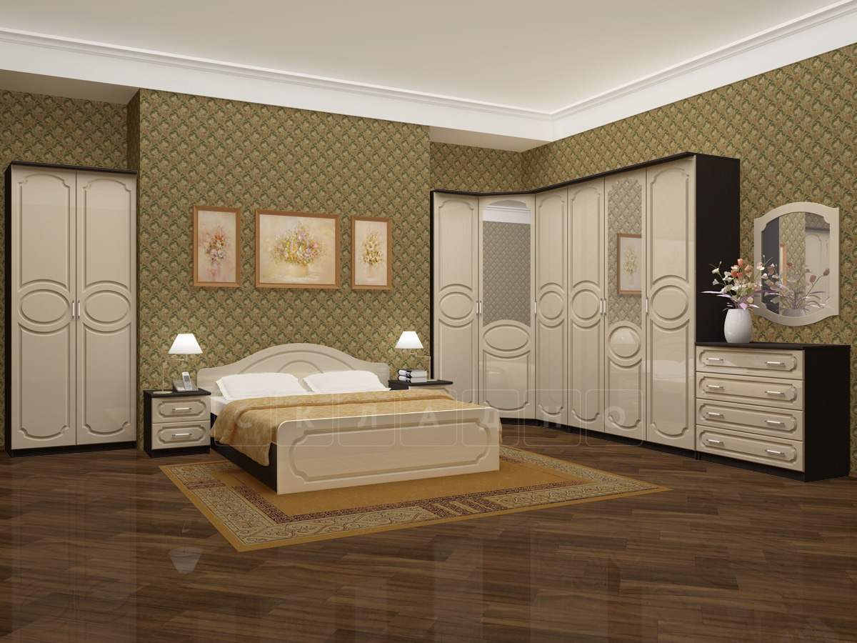 Спальный гарнитур Карина-7 фото 2 | интернет-магазин Складно