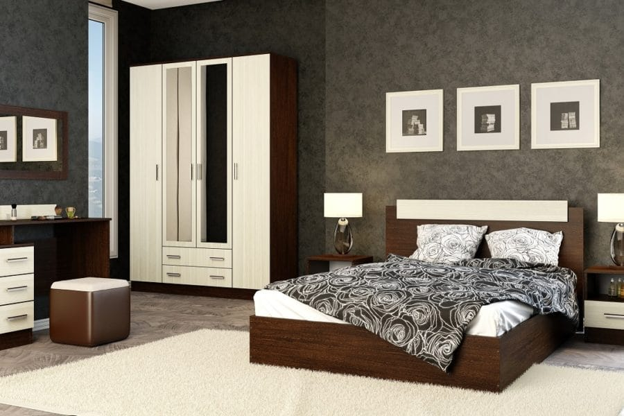 Спальный гарнитур Эко фото | интернет-магазин Складно