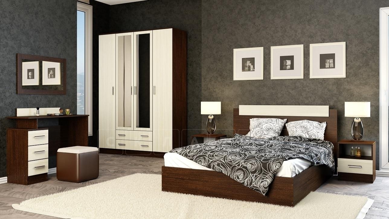 Спальный гарнитур Эко фото 1 | интернет-магазин Складно
