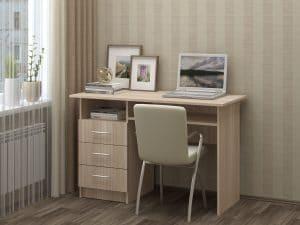 Письменный стол ПС-02 с ящиками 3560 рублей, фото 5 | интернет-магазин Складно