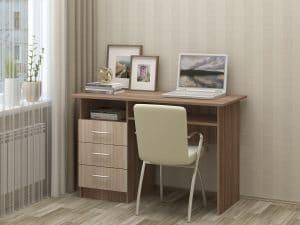 Письменный стол ПС-02 с ящиками фото 2 | интернет-магазин Складно