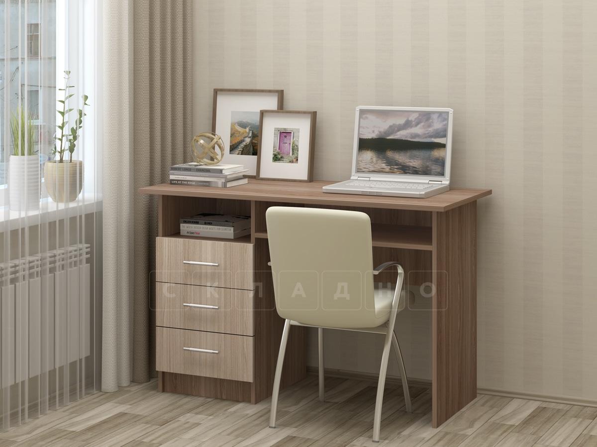 Письменный стол ПС-02 с ящиками фото 4 | интернет-магазин Складно