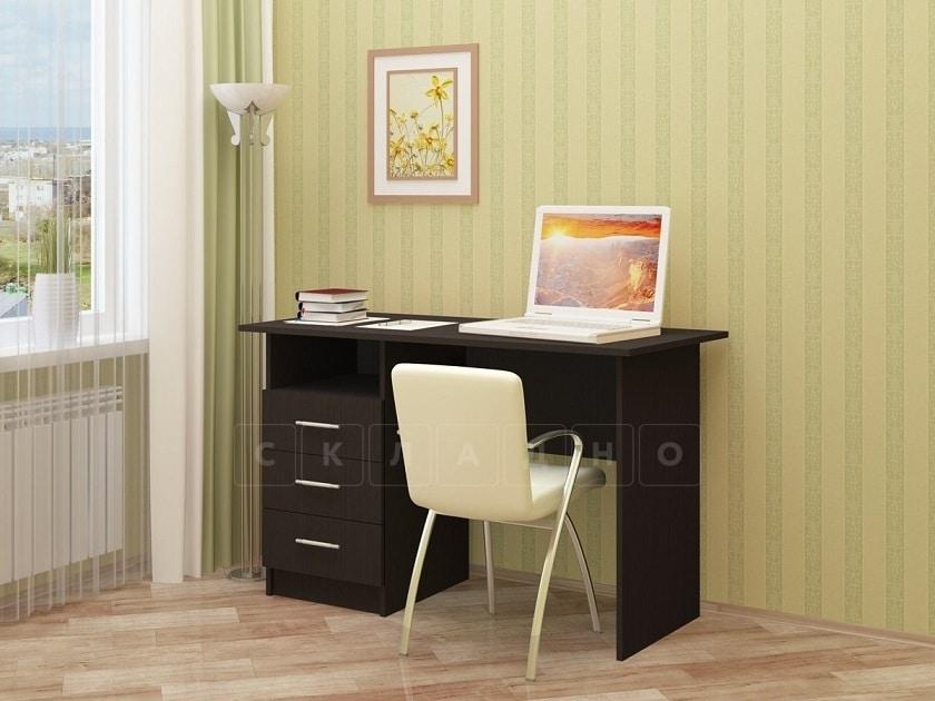 Письменный стол ПС-02 с ящиками фото 3 | интернет-магазин Складно