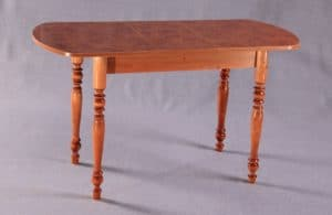 Обеденный раздвижной стол овальный на резных ножках 150х70 фото | интернет-магазин Складно