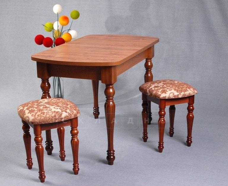 Обеденная группа ажурный стол и табуреты фото 2 | интернет-магазин Складно