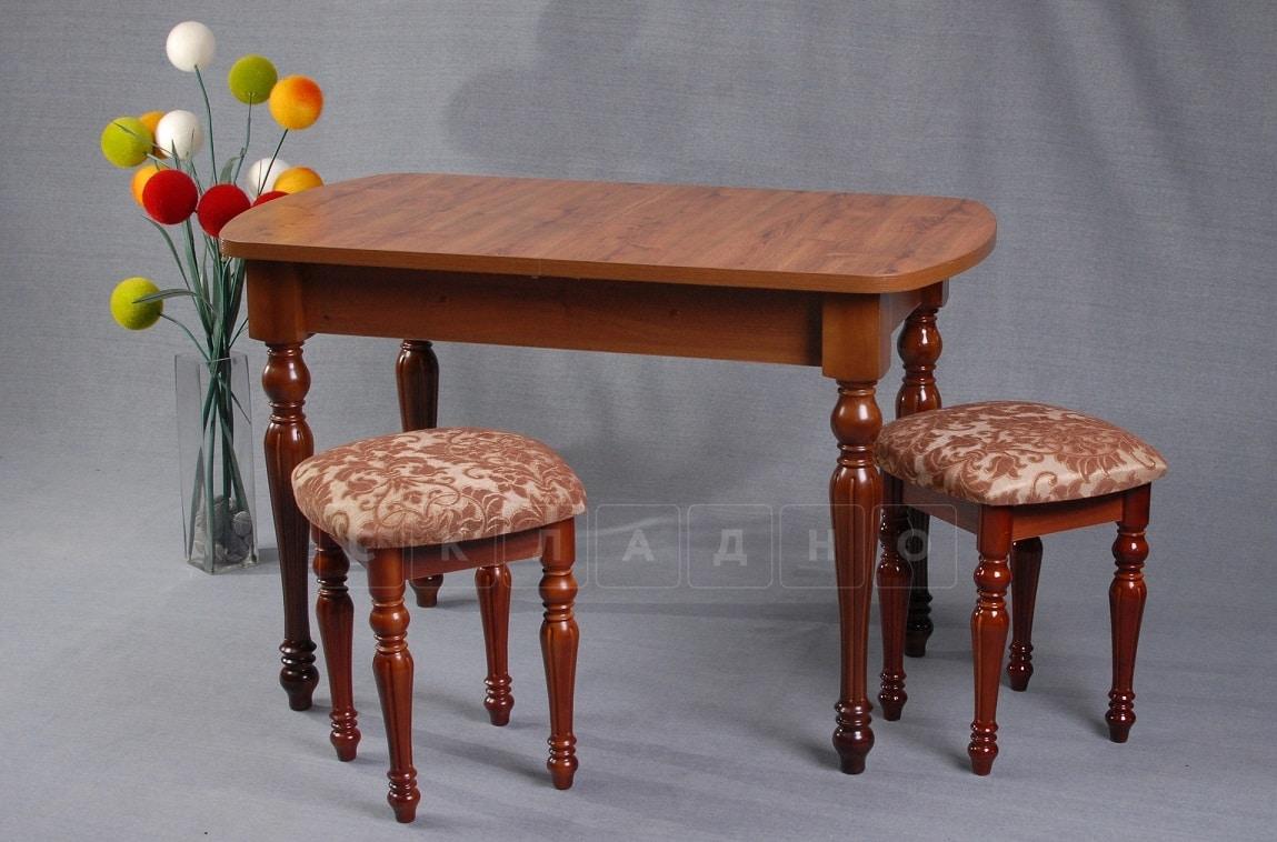 Обеденная группа ажурный стол и табуреты фото 1 | интернет-магазин Складно