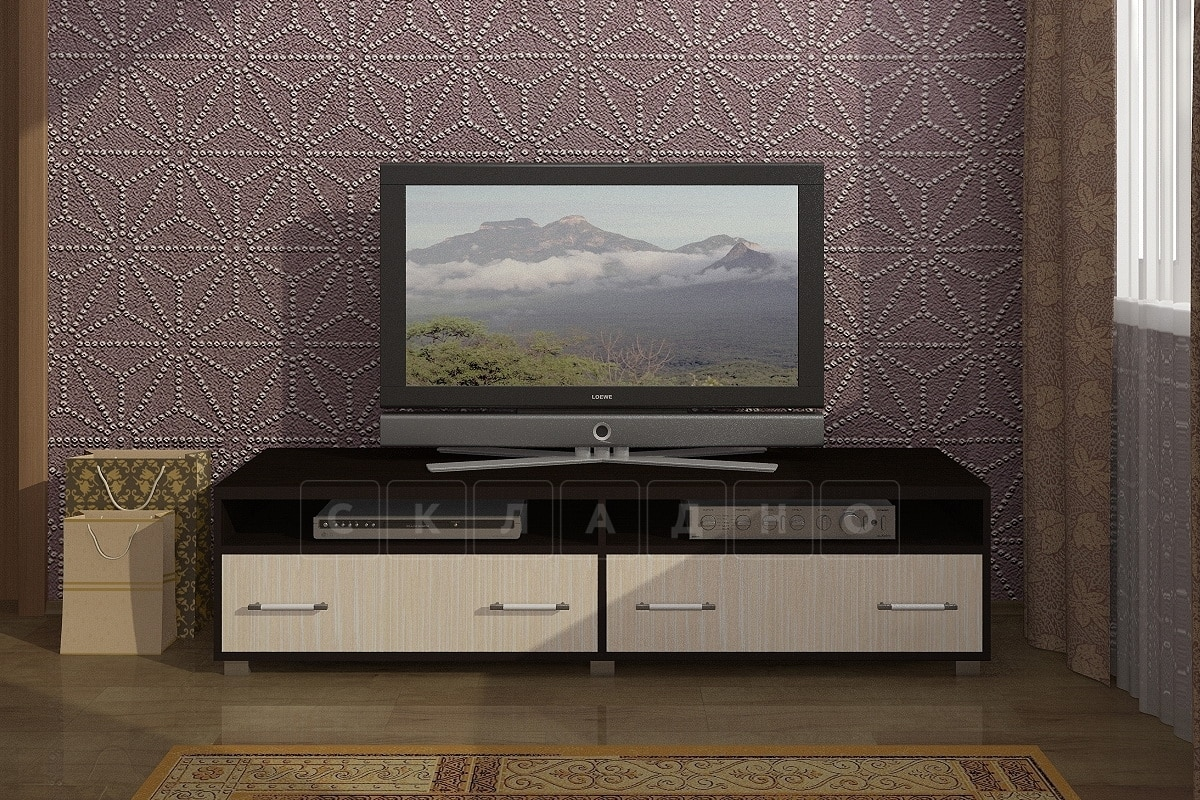 Тумба под телевизор ТТВ-2 фото 1 | интернет-магазин Складно