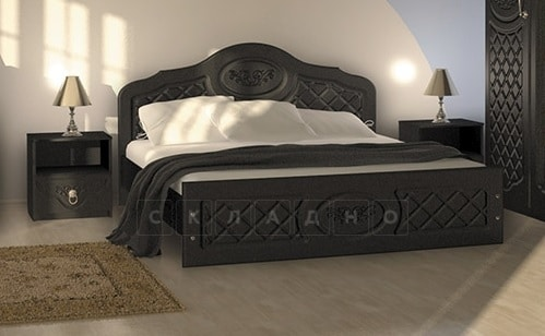 Кровать Венеция МДФ 160 см фото 2 | интернет-магазин Складно