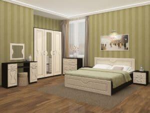 Спальный гарнитур Зиля МДФ фото | интернет-магазин Складно