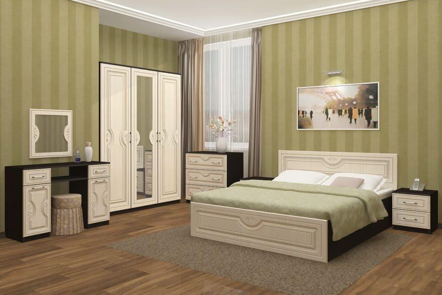 Спальный гарнитур Зиля МДФ фото   интернет-магазин Складно