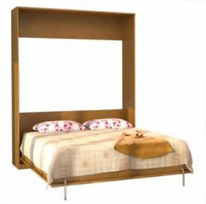 Подъемная кровать 90 см горизонтальная с полками К03 30100 рублей, фото 12 | интернет-магазин Складно