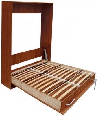 Подъемная кровать 140 см вертикальная К01 фото 2 | интернет-магазин Складно