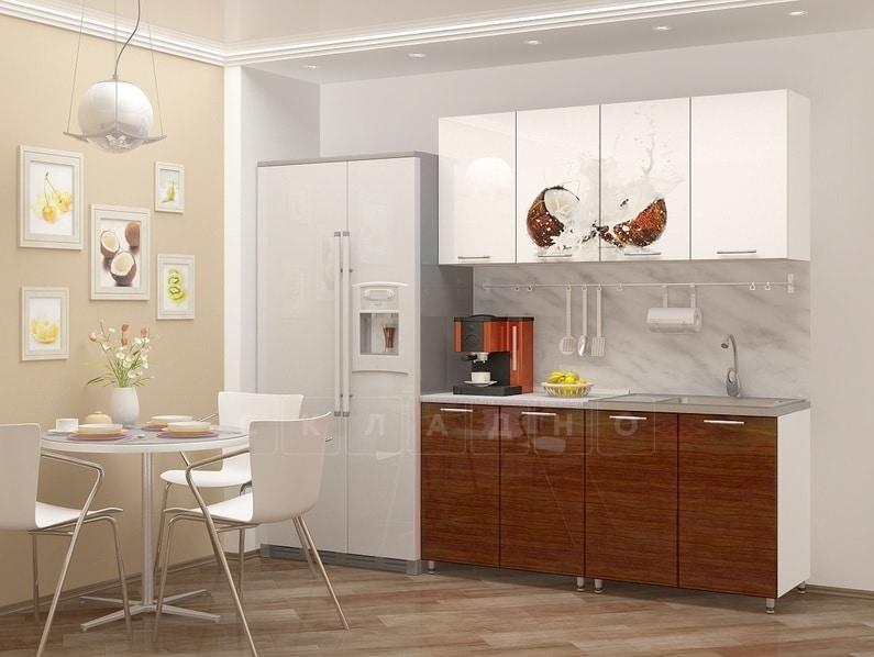 Кухня с фотопечатью Баунти 160см фото | интернет-магазин Складно