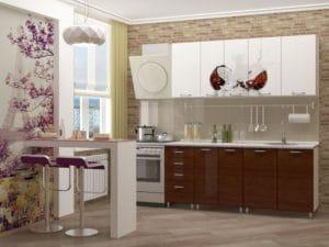Кухня с фотопечатью Баунти 1,8 м  19670  рублей, фото 1 | интернет-магазин Складно
